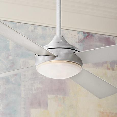 "52"" Minka Aire Aluma Brushed Aluminum Ceiling Fan"