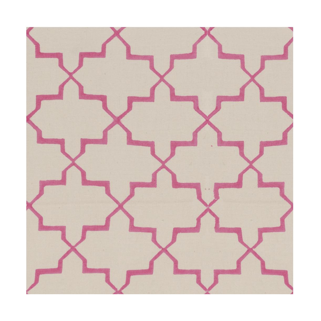 Pink Brooke Blockprint Fabric