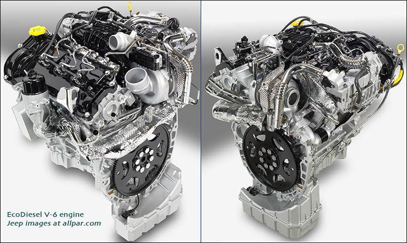 Ecodiesel V6 Toyota Tacoma 2015 Toyota Tacoma Jeep Wrangler Engine