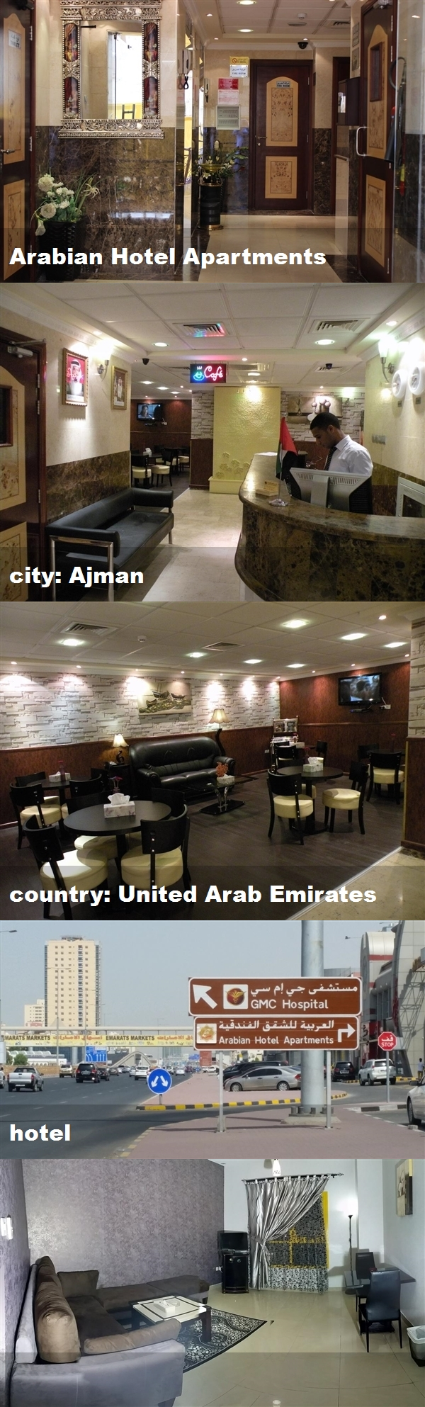 Arabian Hotel Apartments City Ajman Country United Arab