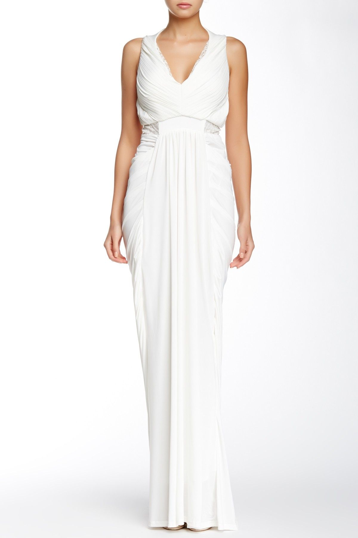 Gracia | Sleeveless Draped Evening Dress | Nordstrom, Ships and Events