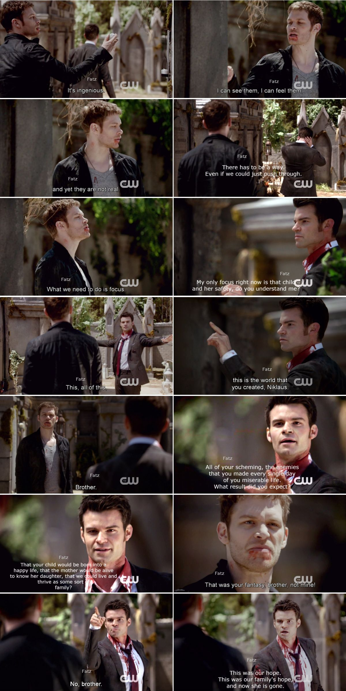"Klaus and Elijah - ""From a Cradle to a Grave"" - 1 * 22"