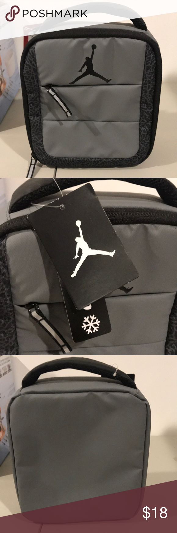 416f2d8ee8a686 Air Jordan insulated soft lunch box bag. Exactly as pictured. Please check  pictures and ask any questions Jordan Accessories Bags