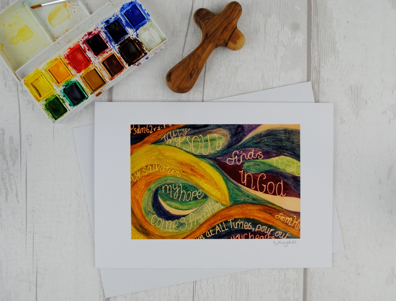 Faith Rainbows Handmade Watercolor Cards