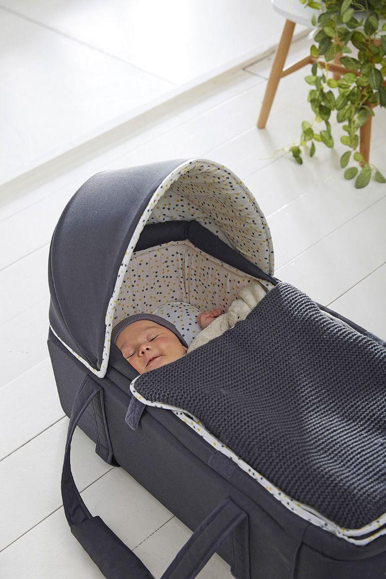 3092f5bab5856 Couffin souple #VERTBAUDET #gris #étoiles Prêt à accueillir #bébé et ...