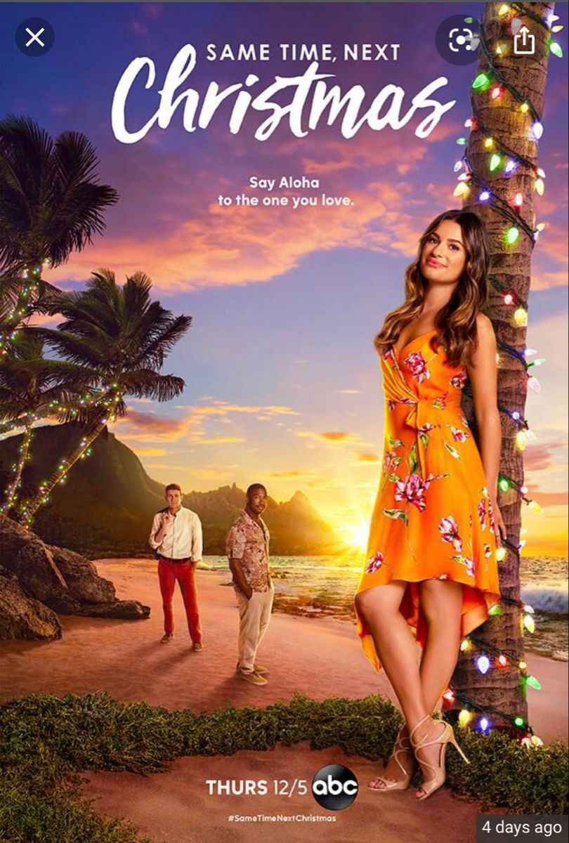 Lea Michele stars in Same Time, Next Christmas on ABC