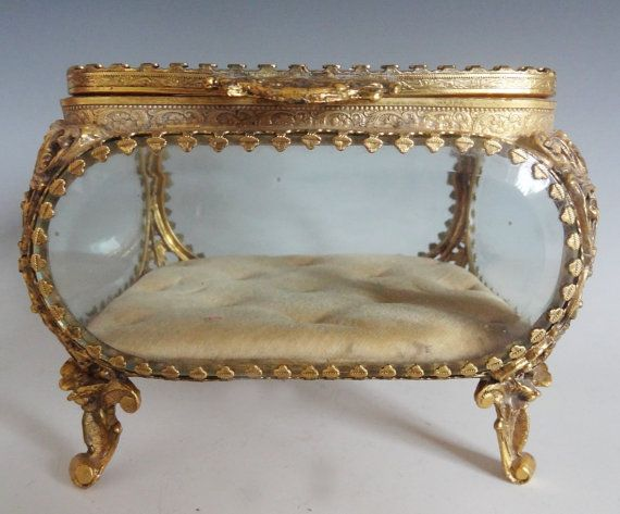 Gorgeous Antique French Jewelry Box Casket Box HIGH QUALITY Casket