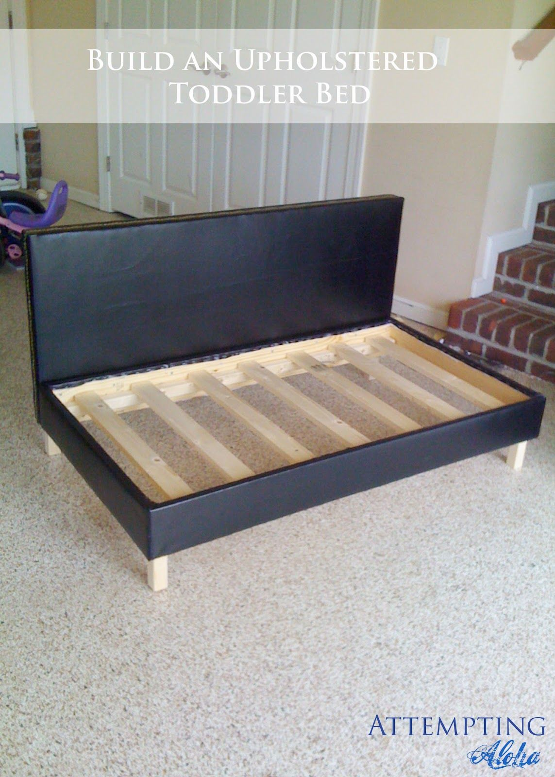 Diy Upholstered Toddler Bed Couch Plans
