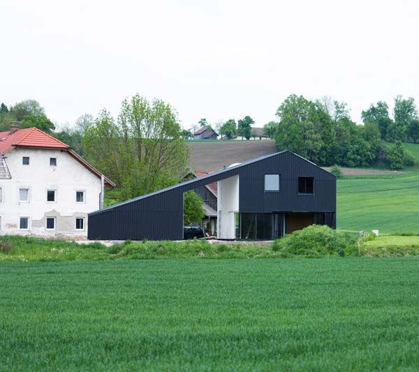 Interesting Minimalist Architecture In A Rural Landscape
