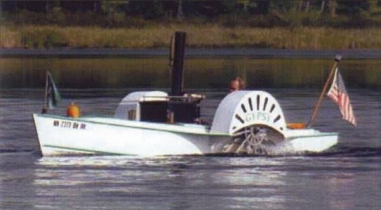 Steam Paddle Boat