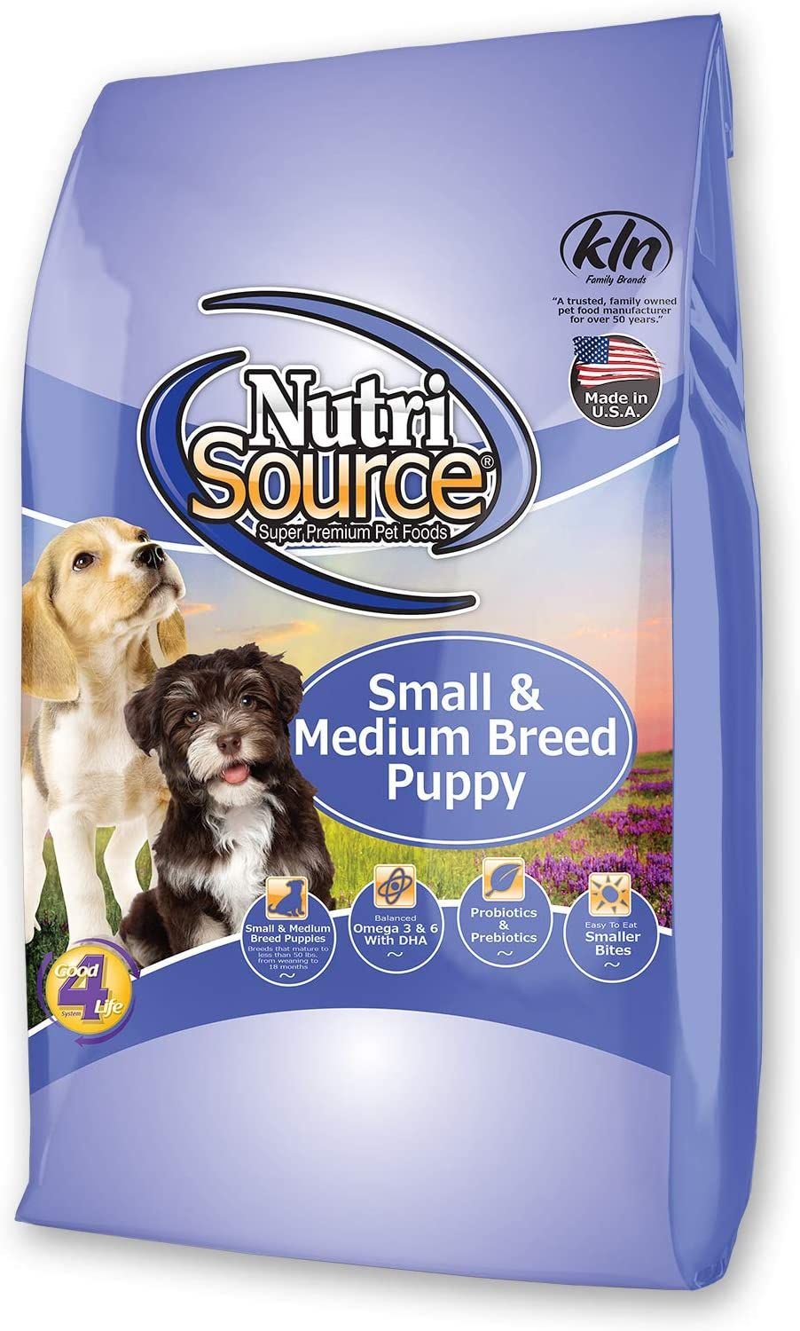 Nutrisource SmMed Breed Dry Puppy FoodLb Pet Supplies