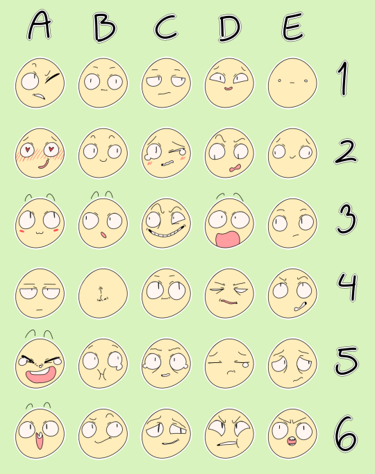 Nuggetmorty Drawing Expressions Drawing Meme Expression Sheet
