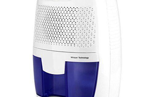 Finether 500ml Mini Déshumidificateur d'Air Portable Sèche-linge pour Maison Salle de bain Cuisine Garage Damp EU: Portable: Facile à…