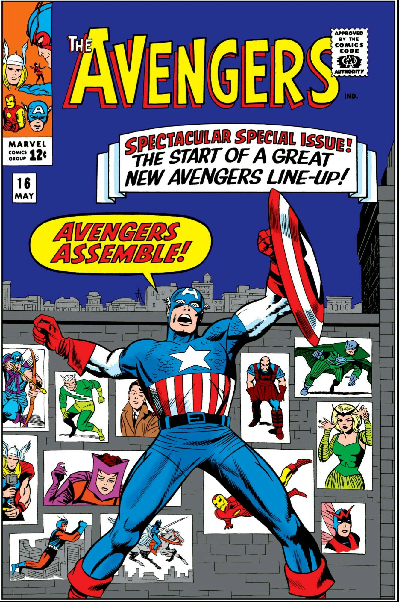 Cover of issue #16 (May '65)