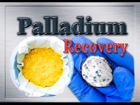 Palladium, Siver and Gold recovery from MLCC (Monolithic