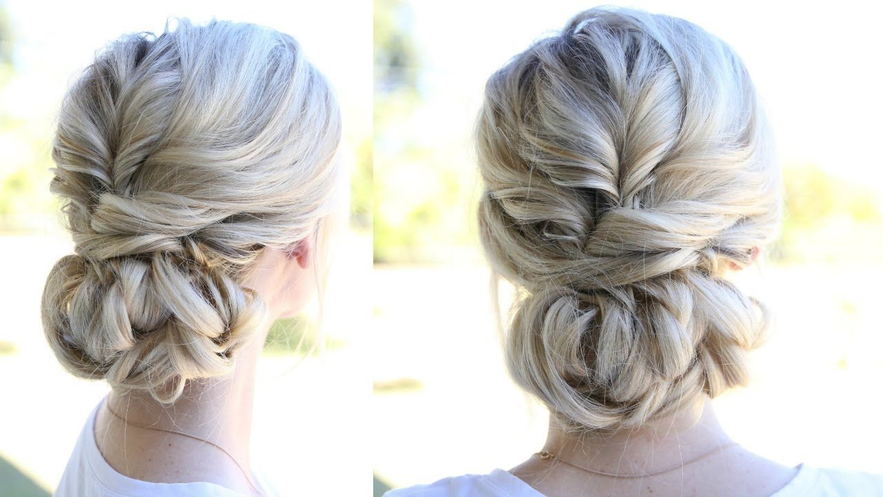 Topsy Tail Updo and Looped Bun - YouTube | Hair | Pinterest | Updo ...