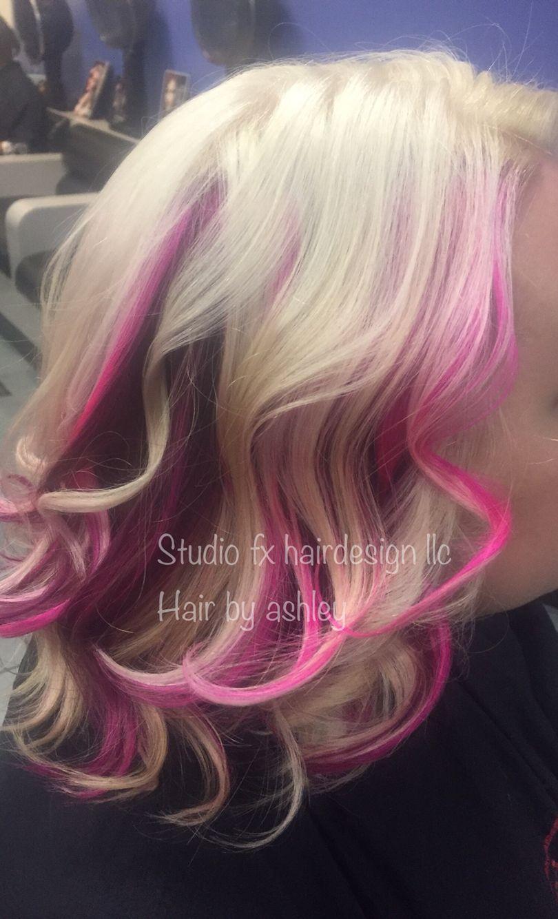 Pastel hair pink highlights platinum blonde white hair pastel hair pink highlights platinum blonde white hair elumen hair pmusecretfo Images