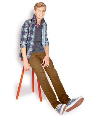 Teens in enjoyable pants