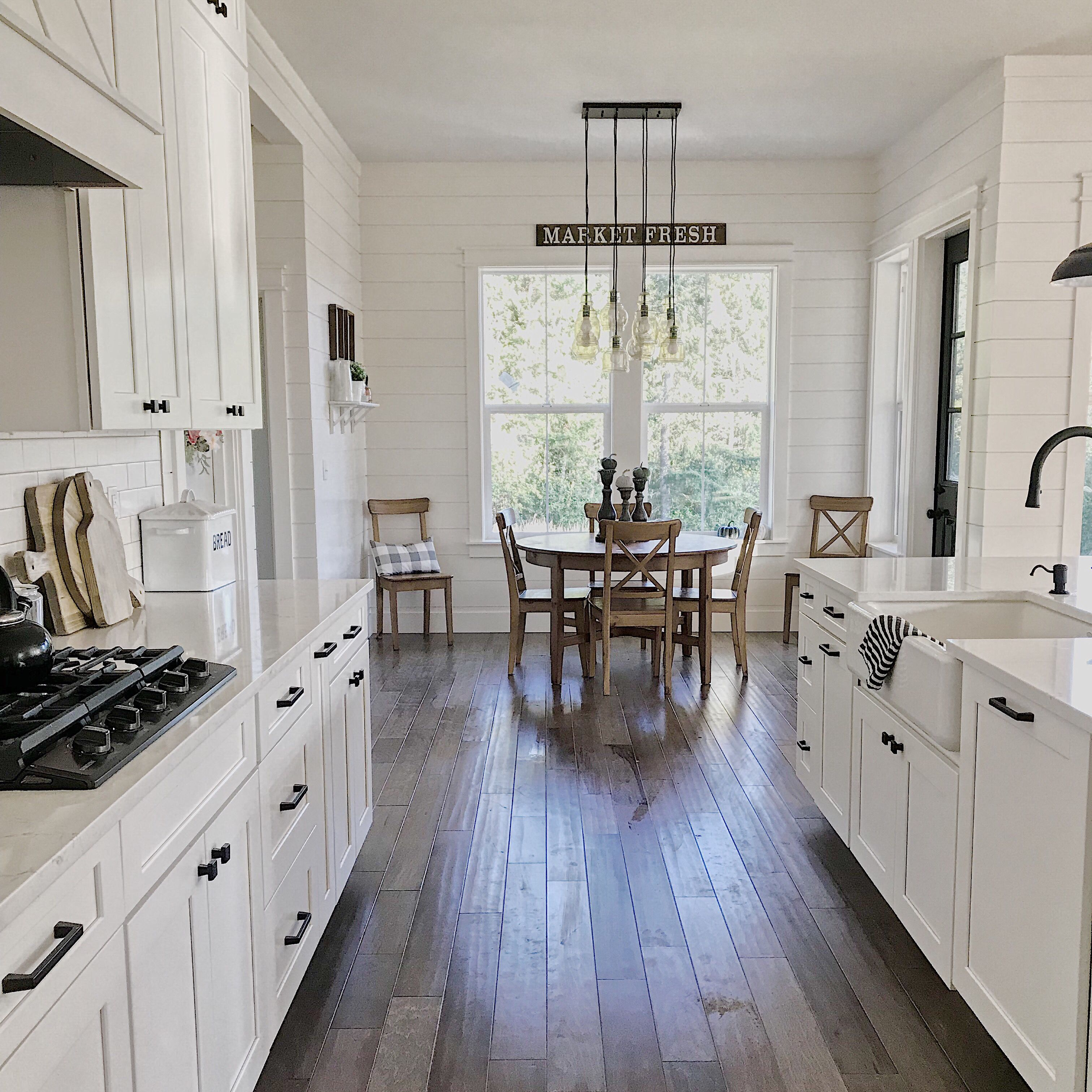 White kitchen, modern farmhouse kitchen, Dream kitchen