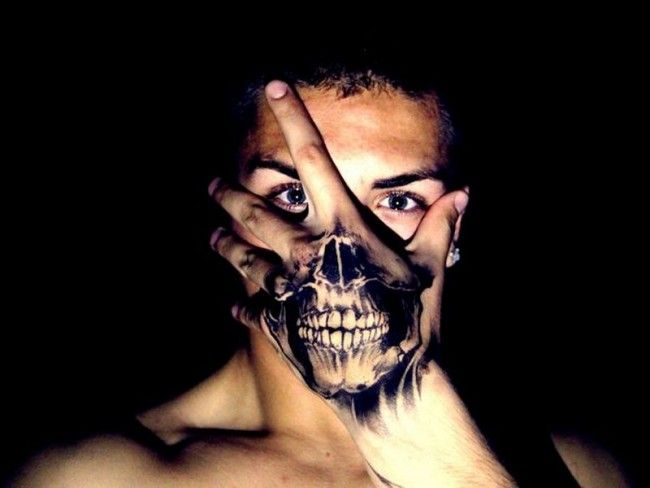 Small Skull Tattoo On Hand: 175 Small Hand Tattoo Ideas (Ultimate Guide, August 2019