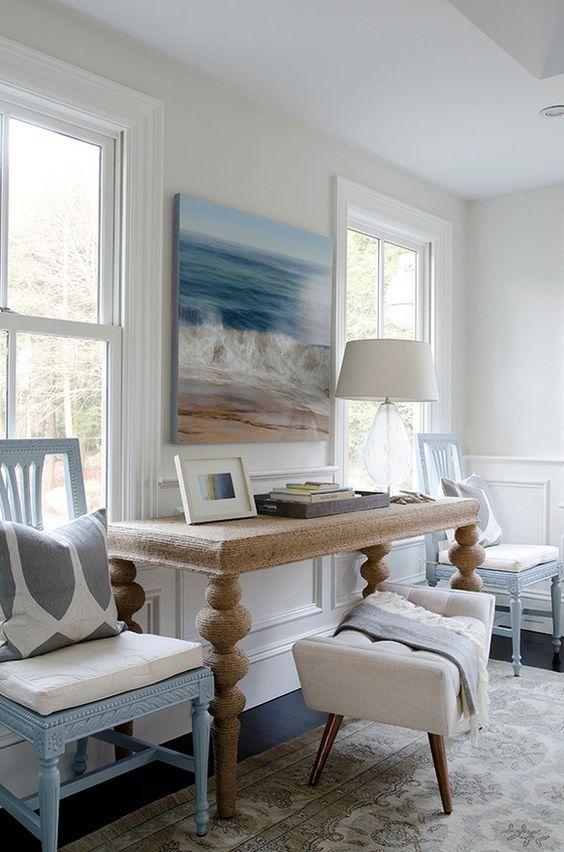 mooi strand interieur met klassiek tintje pinterest interieur huis inrichting en met