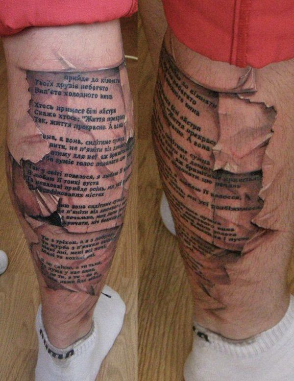 Tattoo Text Ideas: Leg Tattoos, Text Tattoo And
