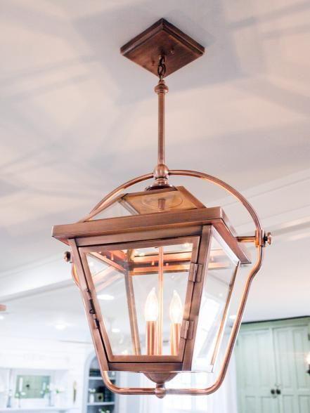 Magnolia Home Copper Lantern Lights