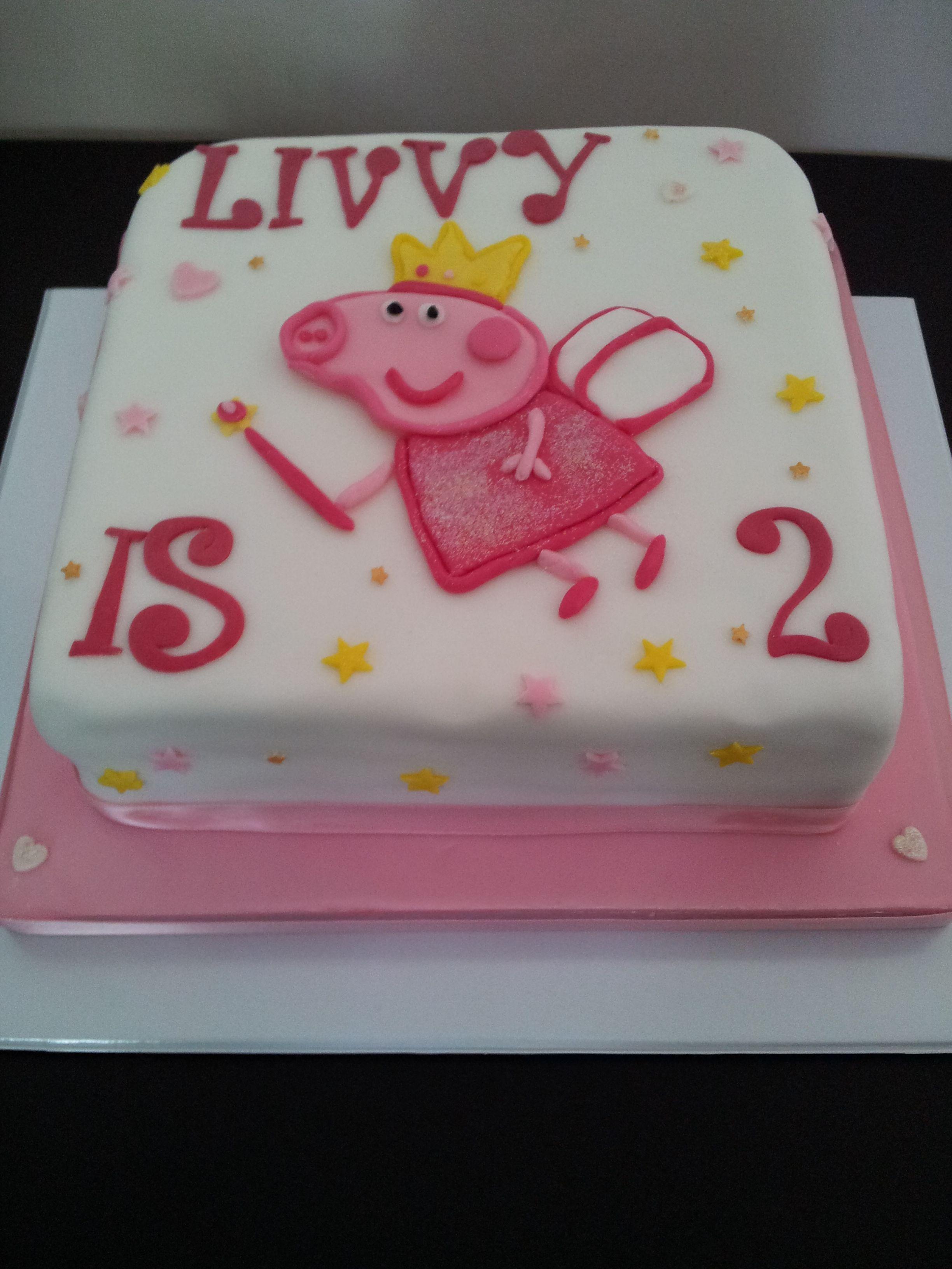 Peppa pig birthday cake peppa pig birthday pig birthday