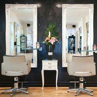 salones belleza enorme espejo espejo negro grandes espejos espejos enmarcados interior de peluquera sillas para salones de belleza diseo del saln