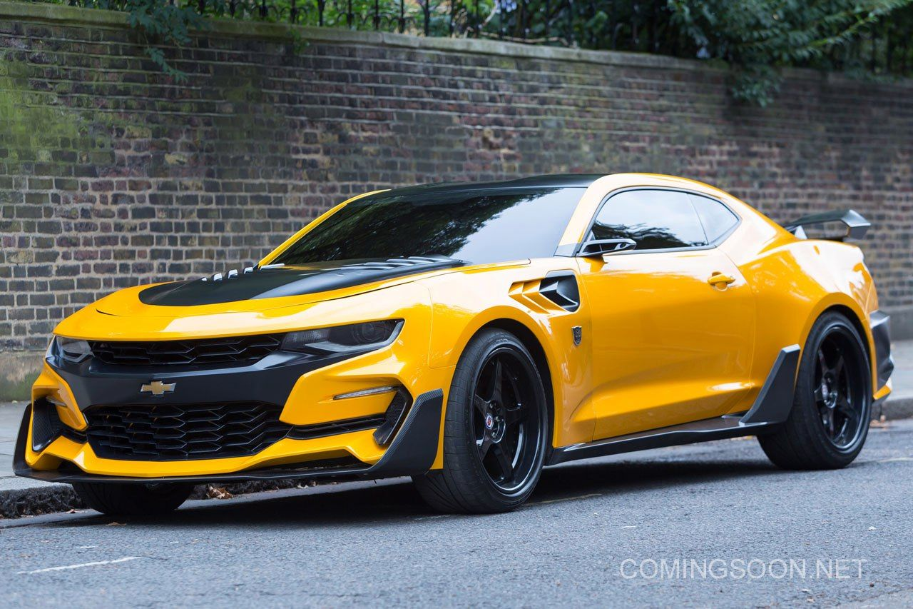 Cars Of Transformers The Last Knight Chevrolet Camaro Bumblebee
