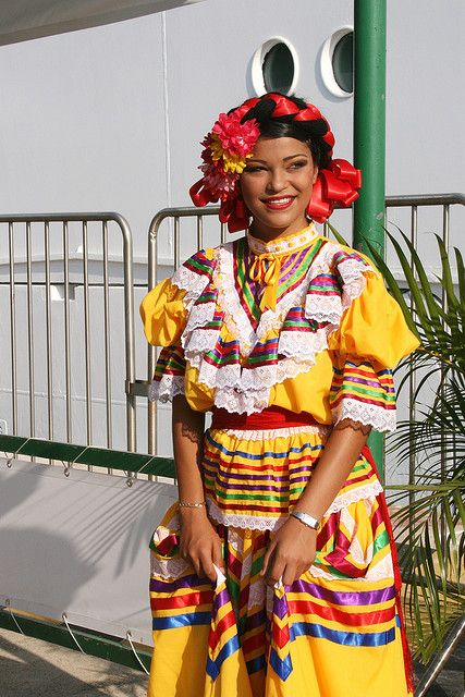 137da347834 Traditional Mexican Dress by shaire productions