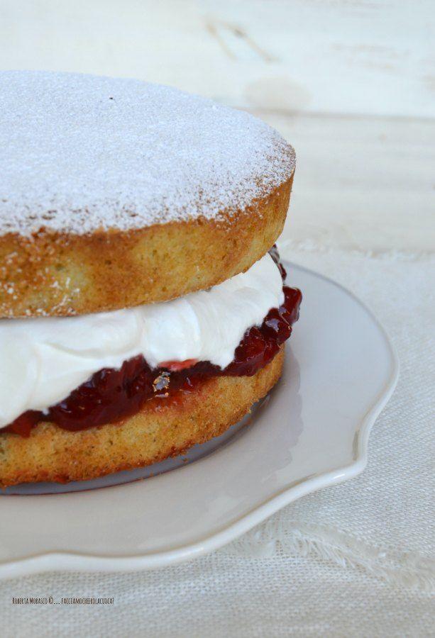 Victoria Sponge Cake | facciamo che ero la cuoca