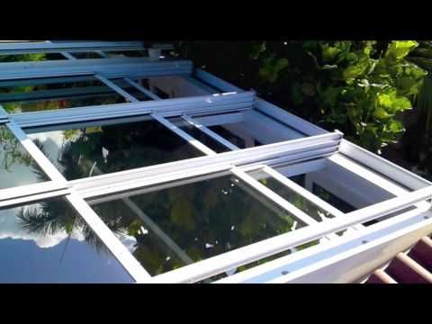 Skymech Operable Roof Systems Youtube Roof Installation