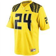 best sneakers 5b38e 562ef Nike Oregon Ducks #24 Game Football Jersey - Yellow | Go ...
