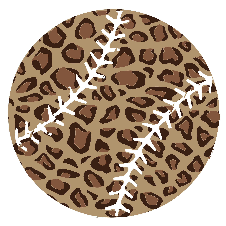 Cheetah Print Baseball SVG/PNG Cheetah print, Etsy, Etsy