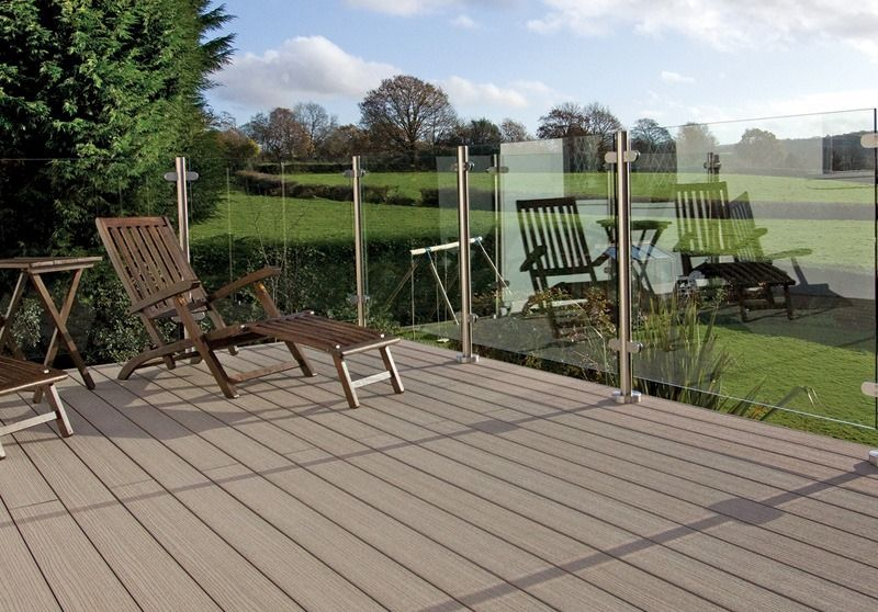 Advantages and disadvantages of wood plastic composite for Disadvantages of composite decking