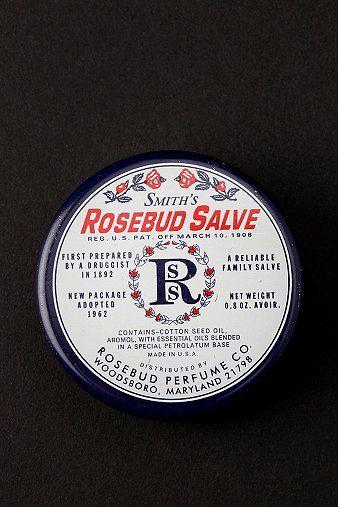 Smith's Rosebud Salve    Best lip balm ever.