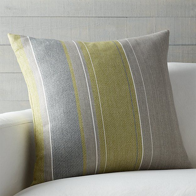 Jensen 40 Pillow With FeatherDown Insert Crate And Barrel Home Enchanting Crate And Barrel Throw Pillow Inserts