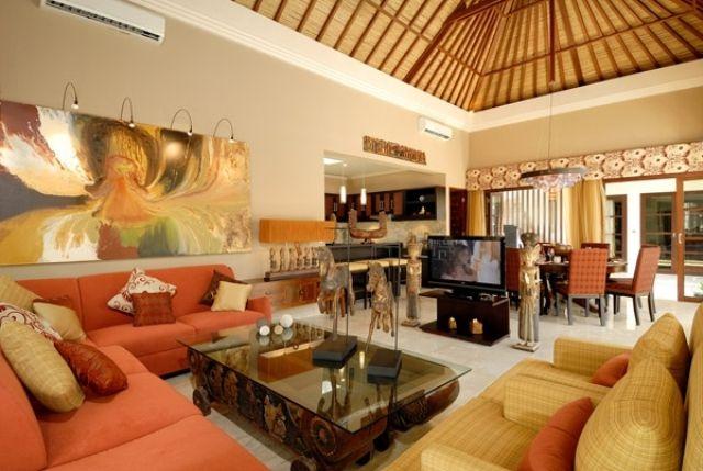 Bali Living Room Design Ideas In Tasteful Look | Decorating ...