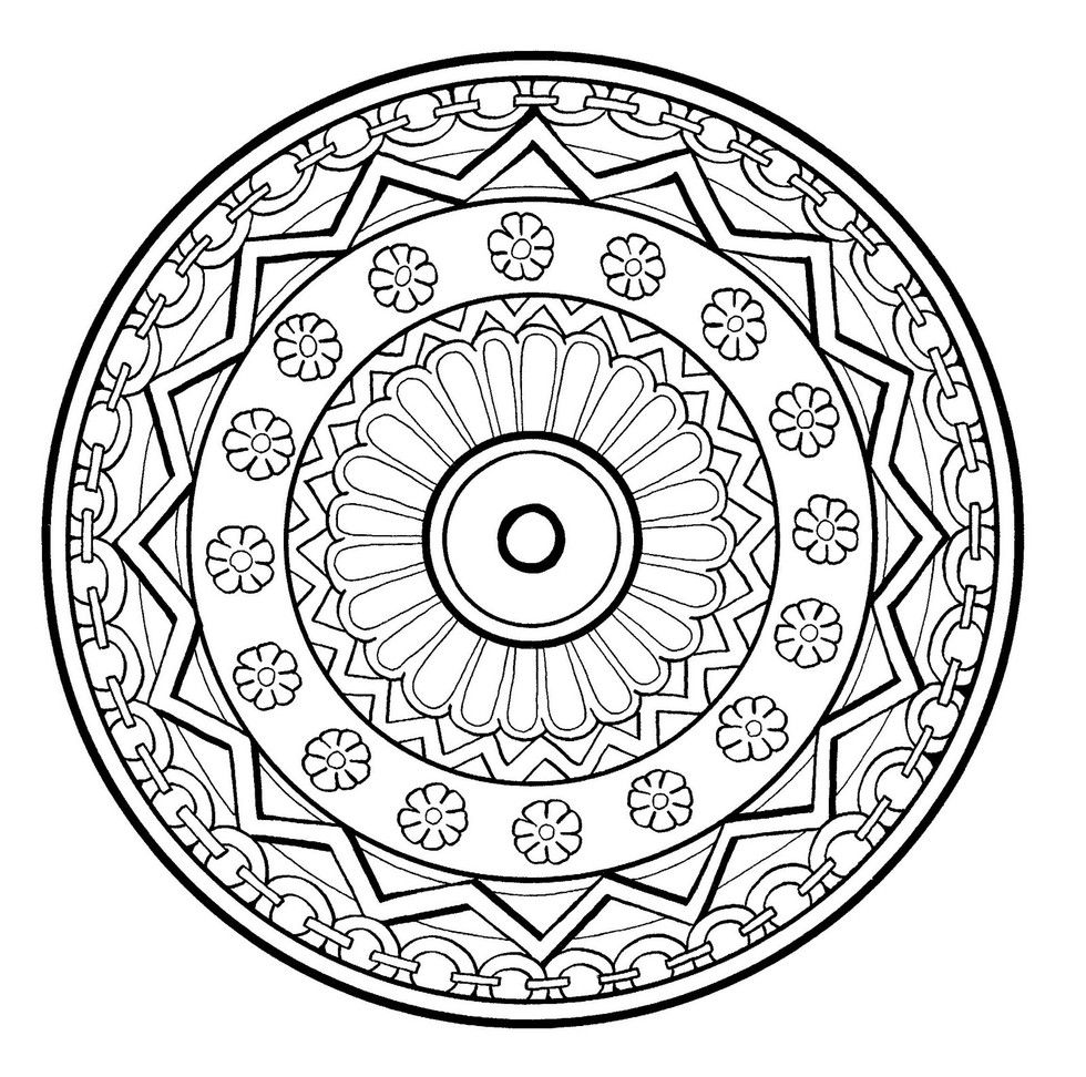 These Printable Mandala And Abstract Coloring Pages Relieve Stress And Help You Meditate Abstract Coloring Pages Mandala Coloring Pages Art Therapy