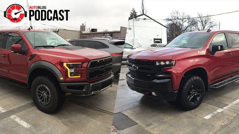 Podcast 564 Ford F 150 Raptor And Chevy Silverado Trail Boss Chevy Silverado Silverado Ford F150