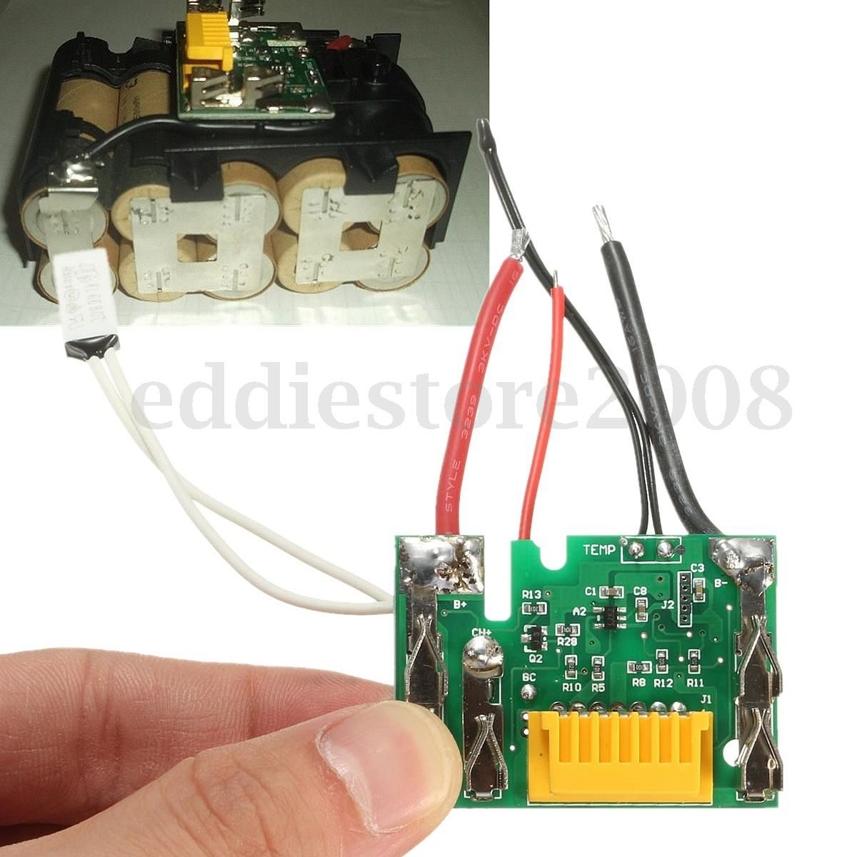 Uk 18v Pcm Pcb Lithium Battery Protect Circuit Module Board For Makita Drill In 2021 Battery Battery Repair Coach Swagger Bag