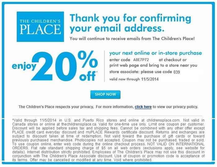 Pin By Techboomie Asmr On Printable Coupons Childrens Place Coupons Free Printable Coupons Printable Coupons