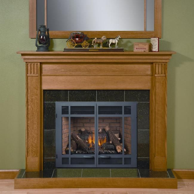 From Our Traditional Series The Double Tree Mantel Made With