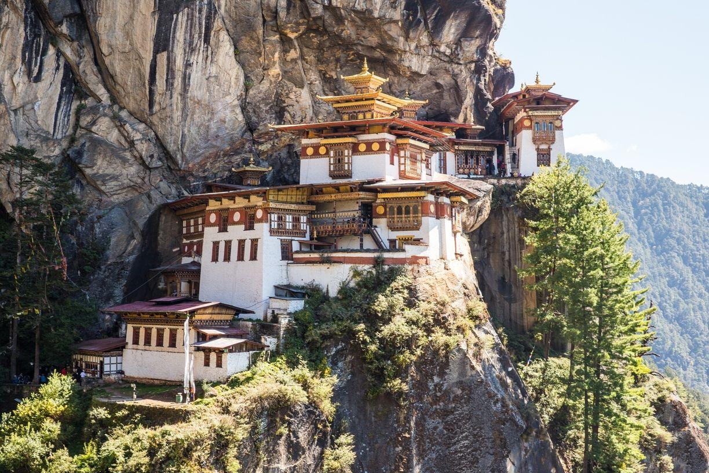 Tigeru0027s Nest Paro Bhutan u2014 by Earth