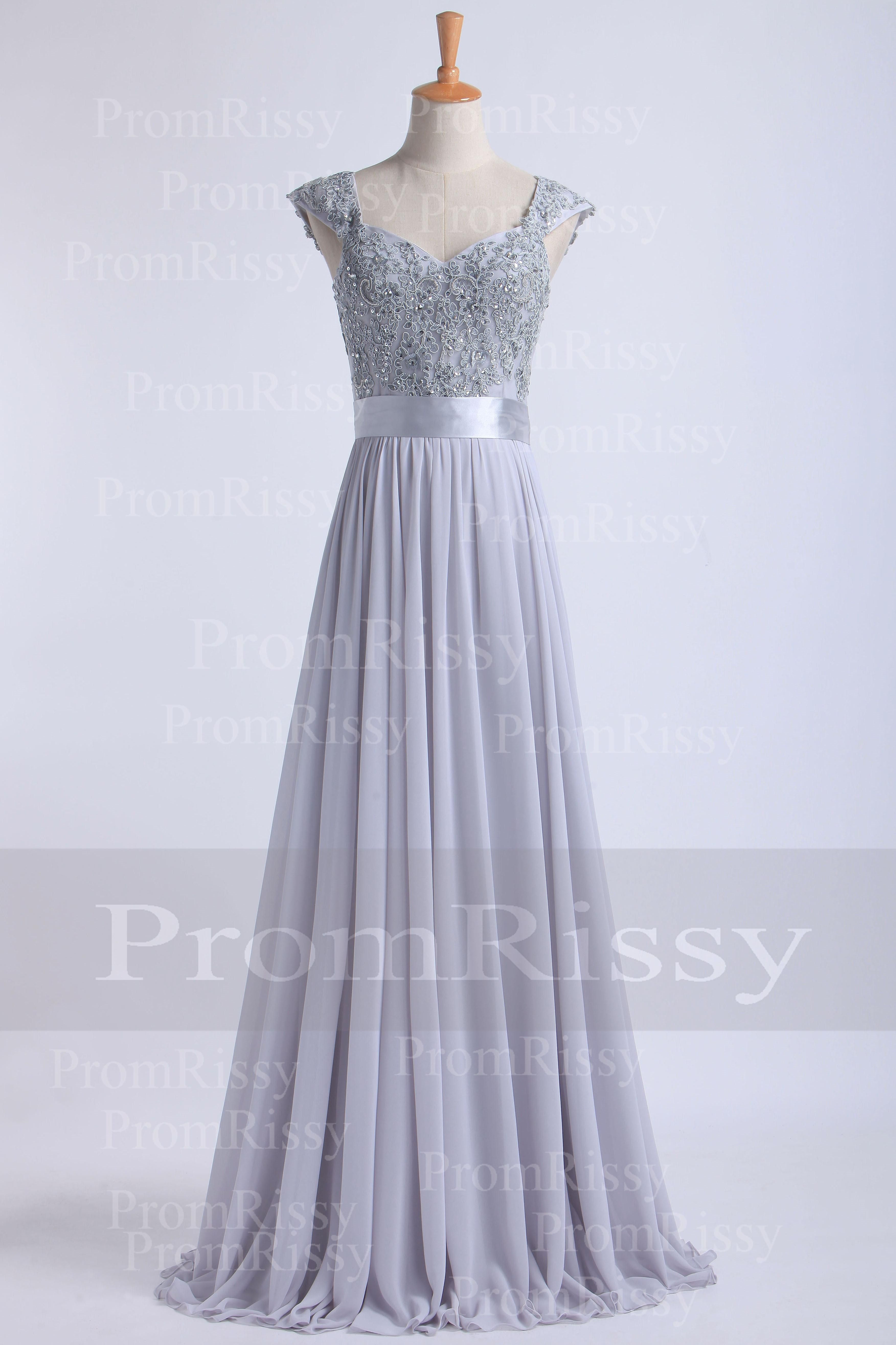 Cheap floor length beaded sequin lace top sweetheart cap sleeve