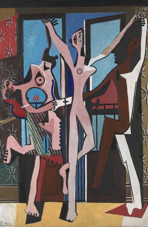 The Three Dancers - Pablo Picasso