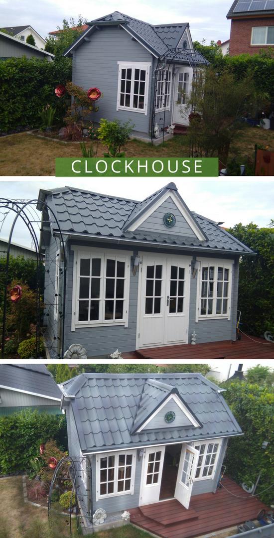 Gartenhaus Modell Clockhouse28 Gartenhaus, Haus und