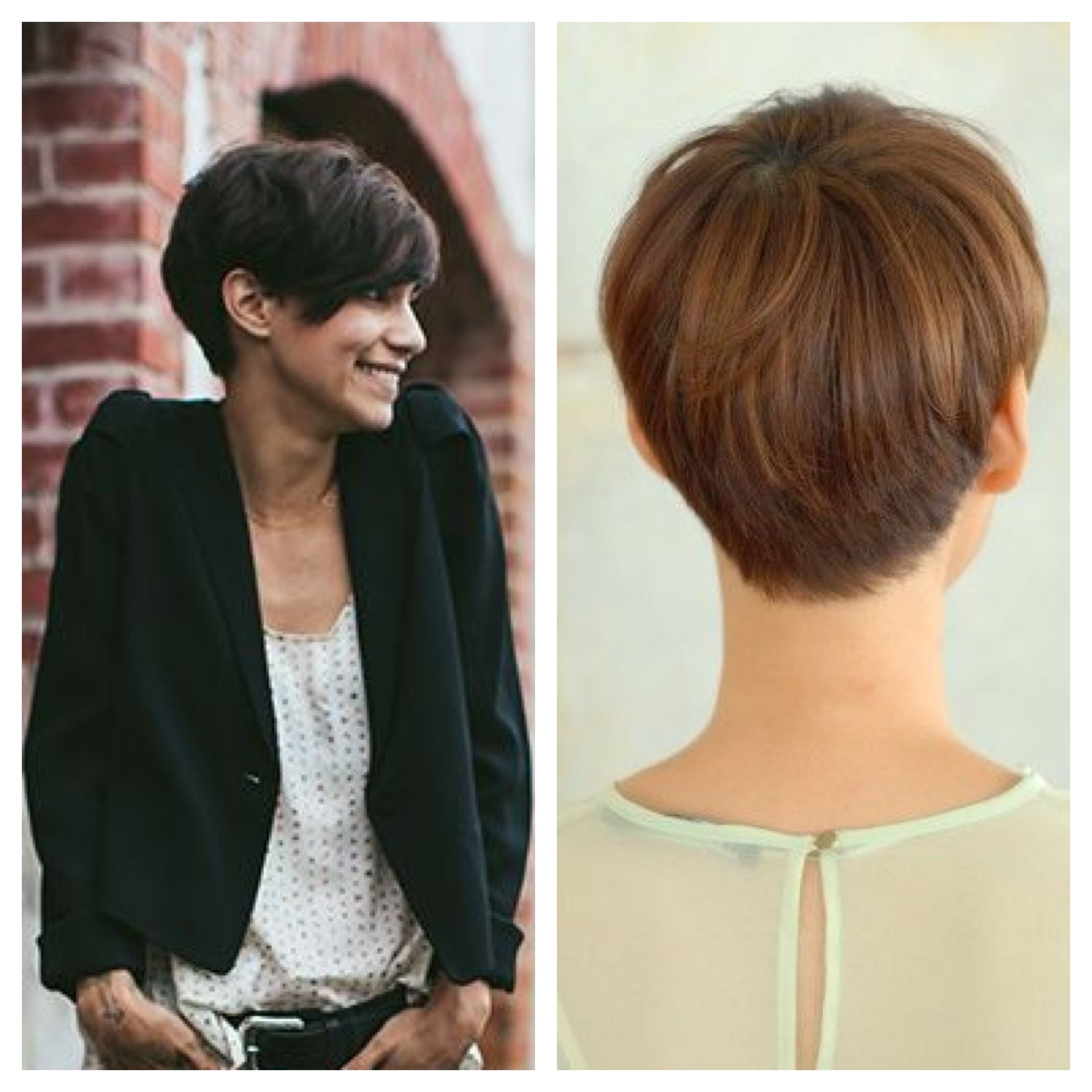 My potential future when I'm finally sick of growing out my hair. #tomboyhairstyles
