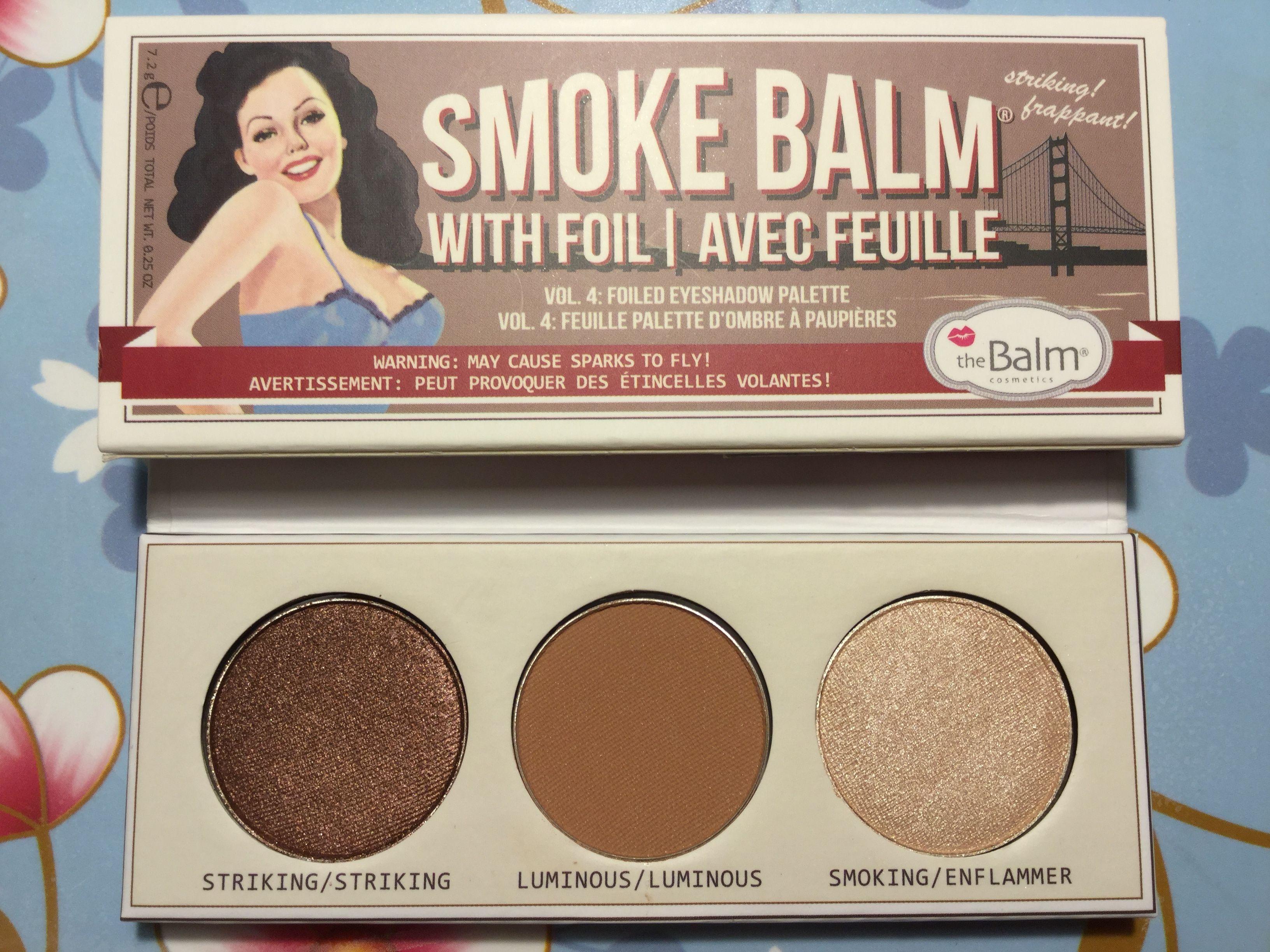 f5f2d629bde TheBalm Smoke Balm Volume 4 | Makeup Collection | Makeup collection ...